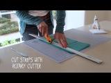 Как сделать праздничную гирлянду из бумаги